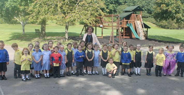 We welcome our new Reception Class