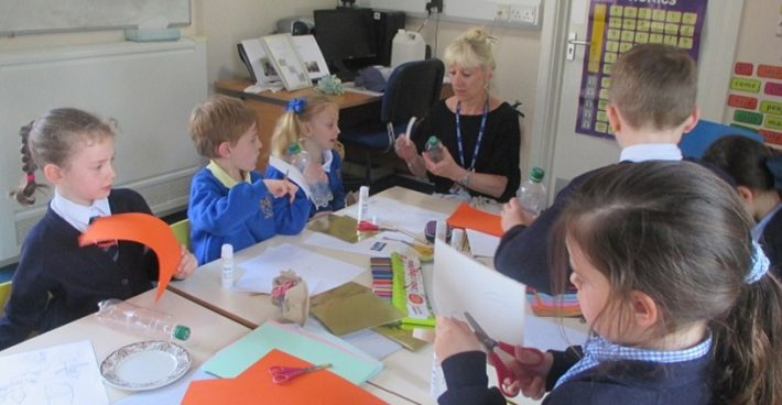 Faith Team visit St. Peter's Infant School