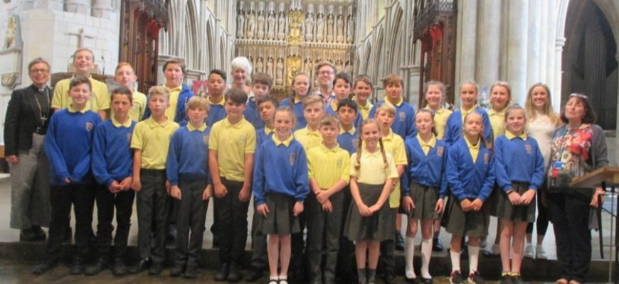 Year 6 Visit to Southwark Cathedral