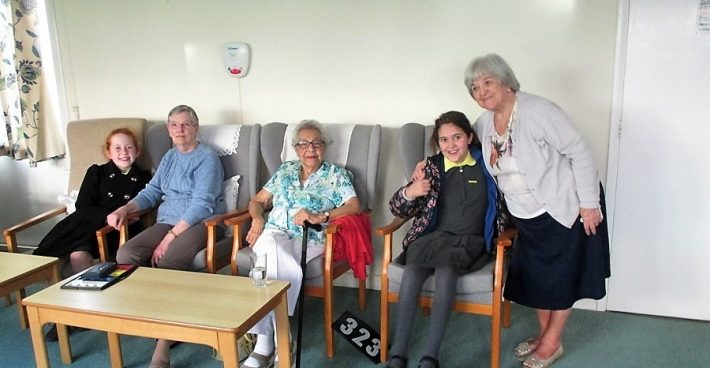 Year 5 Visit Kentwyn's residential Home