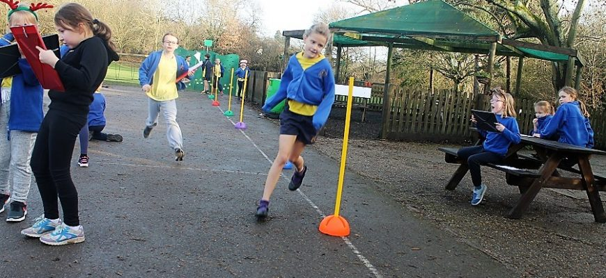 Key Stage 2 Mini Mile competition