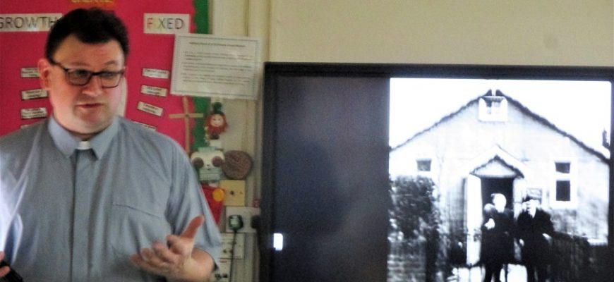 Revd. Jonathan Hardwick Visits Year 6