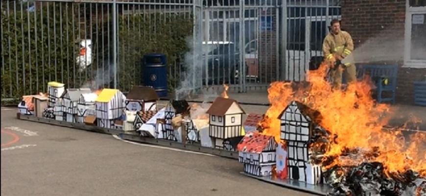 Nutfield's Burning!