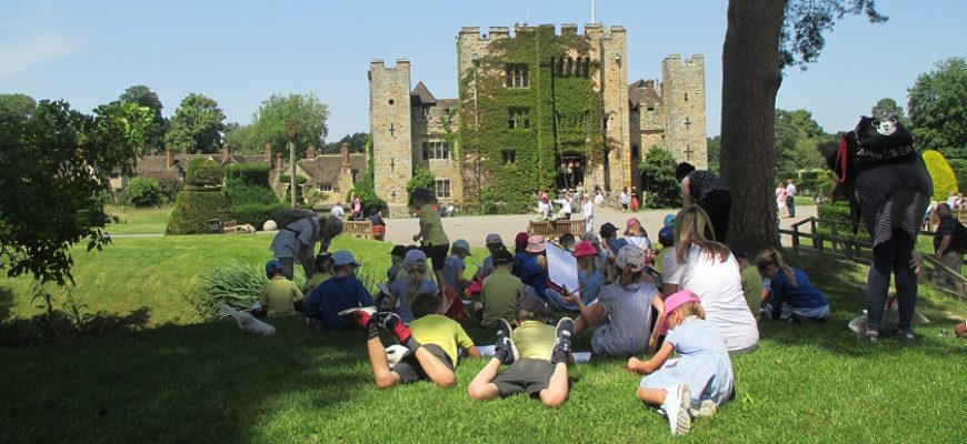 Year 1 and 2 class trip to Hever Castle