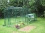 Chicken coop extension