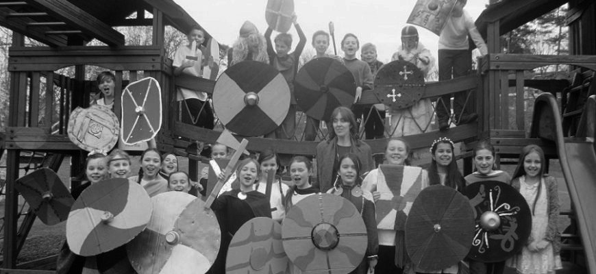 Year 5 & 6 Anglo Saxon Day