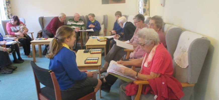 Year 5 Visit to Kentwyn's Residential Home